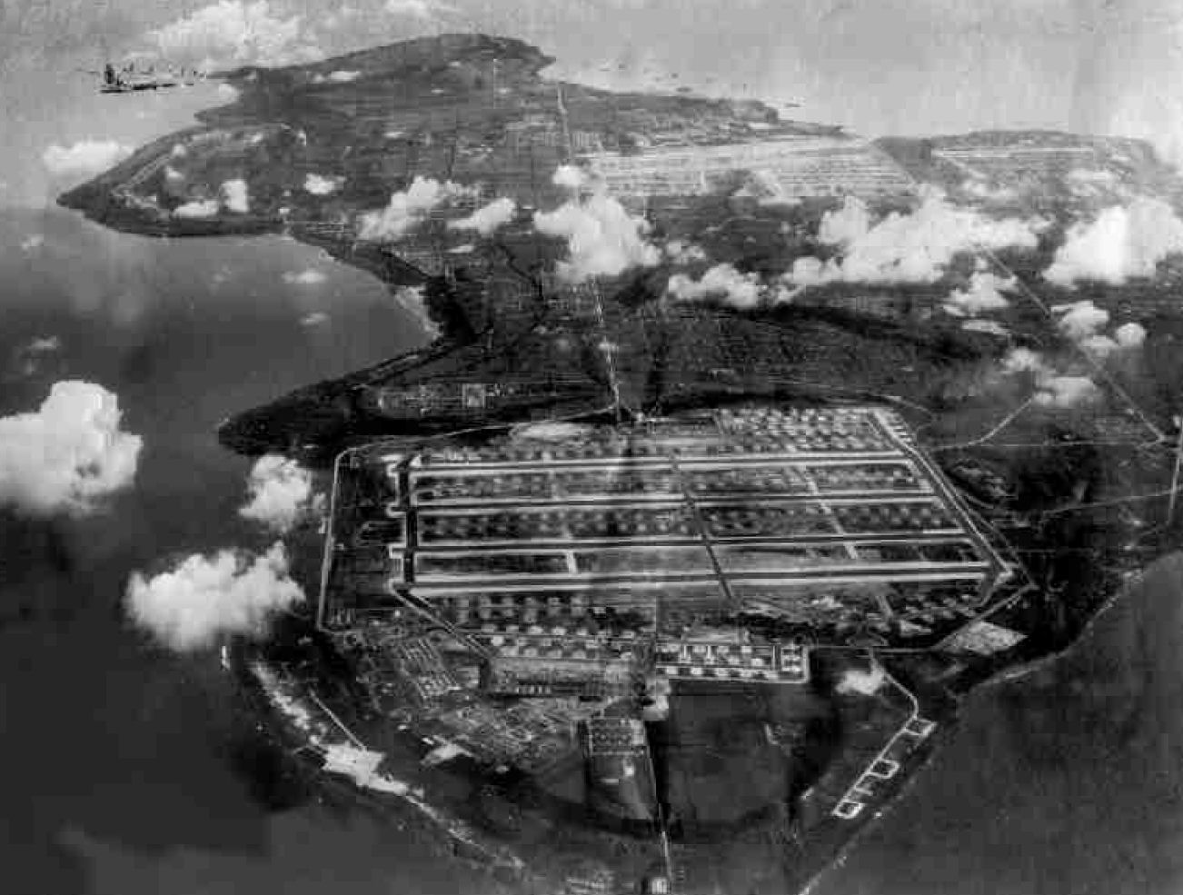 Tinian airfields
