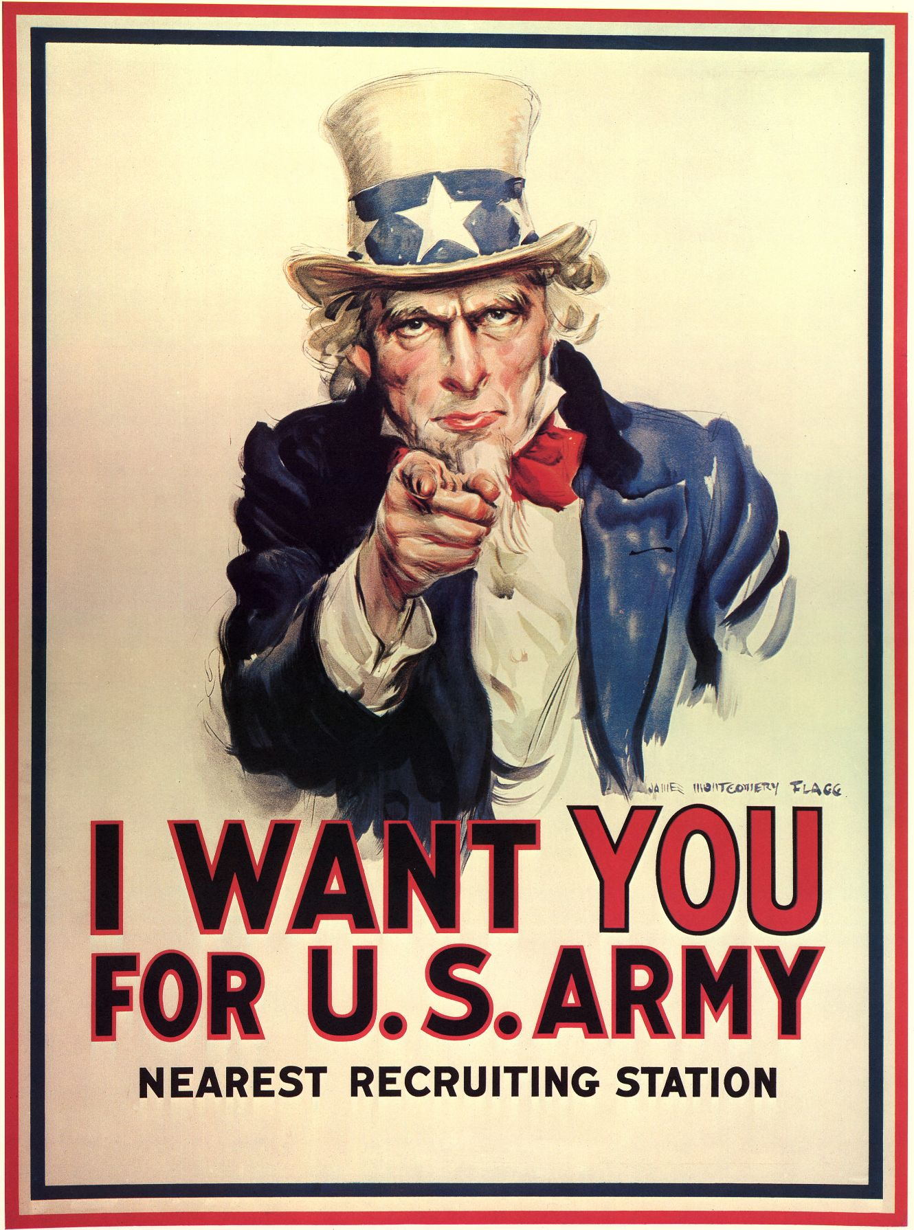 The U.S. recruitment image of Uncle Sam