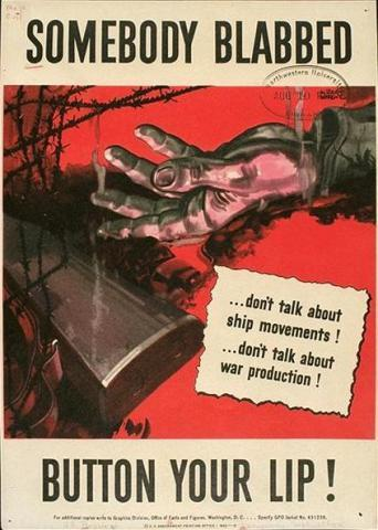 A World War II poster