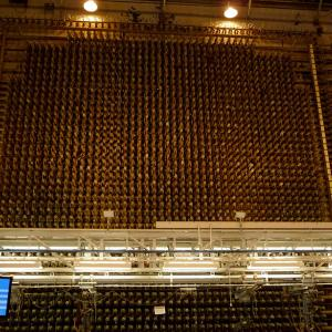 The front face of the B Reactor