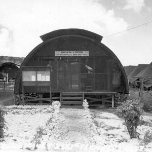 1st Technical Service Detachment Orderly Room, Project Alberta, 1945