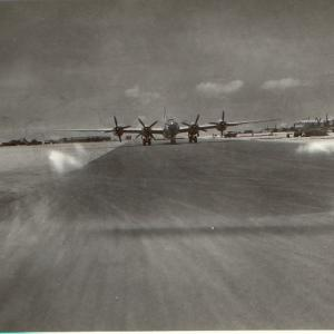 B29s on the Runway
